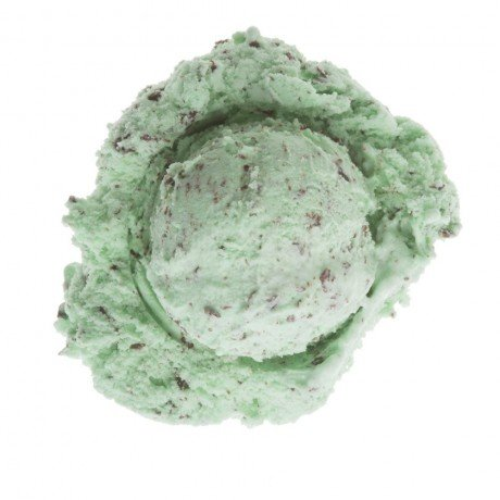 Bittersweet Mint ice cream